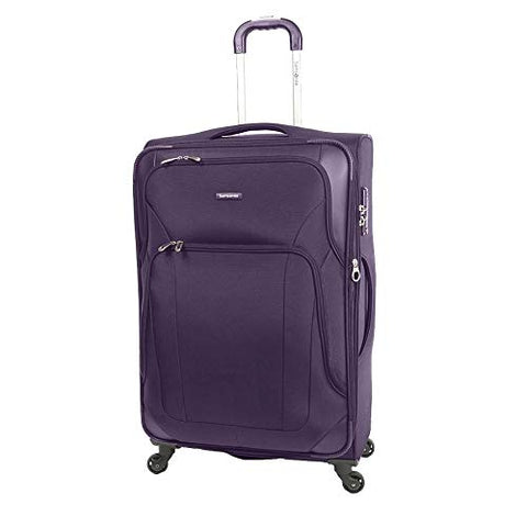 Samsonite Dakar Lite Carry-On Luggage Large Purple Travel Bag