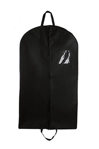 Black Suit & Dress Travel & Storage Garment Bag By Bags For Less – Durable, Rip Resistant,