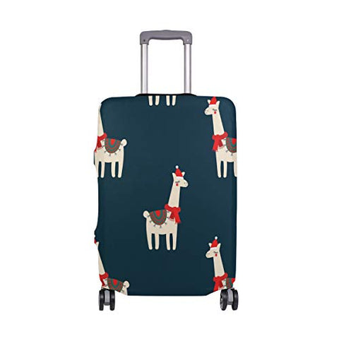 GIOVANIOR Llama Luggage Cover Suitcase Protector Carry On Covers