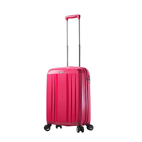 "Mia Toro M1227-20in-Pnk Italy Duraturo Hardside Spinner 20"" Carry-on, Pink"