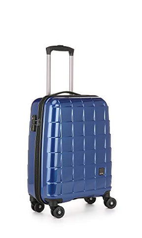 Antler Camden C1 Cabin, 4 Wheel Spinner Hand Luggage, 55 cm, 37 liters,Blue