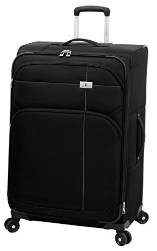 "London Fog Cranford 29"" Expandable Spinner, Black"