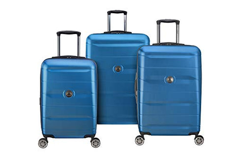 DELSEY Paris Delsey Comete 2.0 3-Piece Luggage Set, Steel Blue
