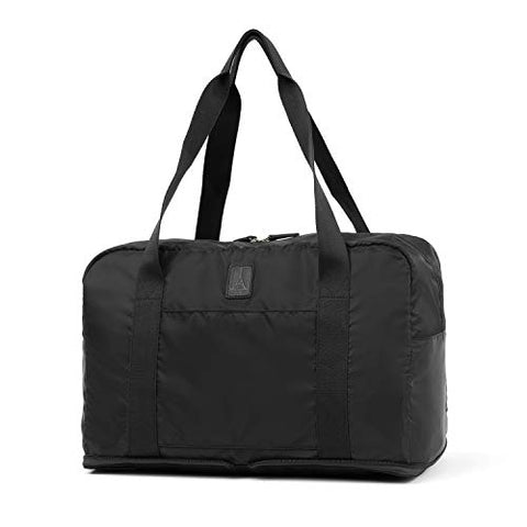 Travelpro Essentials Foldable Duffel Bag, Black, One Size