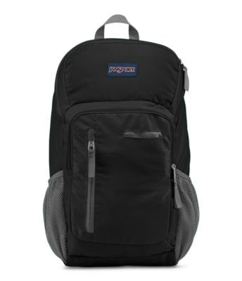 JanSport Impulse Laptop Backpack - Black Triangle Dobby