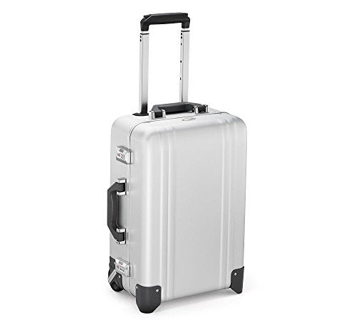 Zero Halliburton Classic Aluminum 2.0 - Carry-On 2 Wheel Luggage (SILVER)