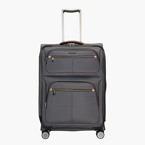 "Ricardo Montecito 25"" Soft Side Spinner Luggage Gray"