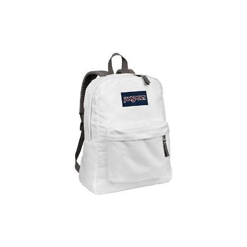 Jansport Unisex Superbreak Classic Ultralight Backpack White