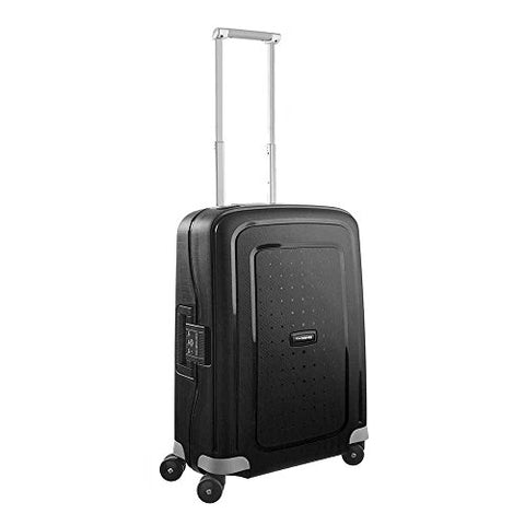 Samsonite S'Cure Hardside Carry On Luggage With Spinner Wheels, 20 Inch, Black