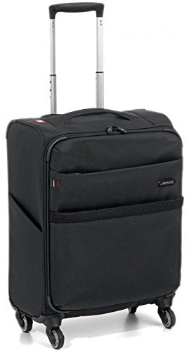 "Roncato Venice 22"" Carry-On Spinner (Black)"