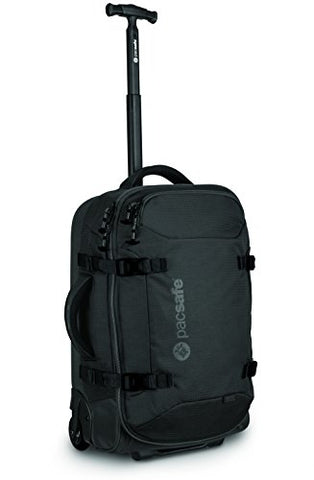 Pacsafe Toursafe At21 Anti-Theft Wheeled Carry-On, Black