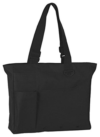 Ultraclub Super Feature Tote - Black - One