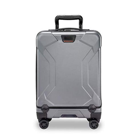 Briggs & Riley Unisex-Adult's Domestic Carry-On Spinner, Granite