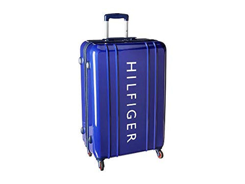 "Tommy Hilfiger Unisex 28"" Maryland Hardside Upright Suitcase Navy One Size"