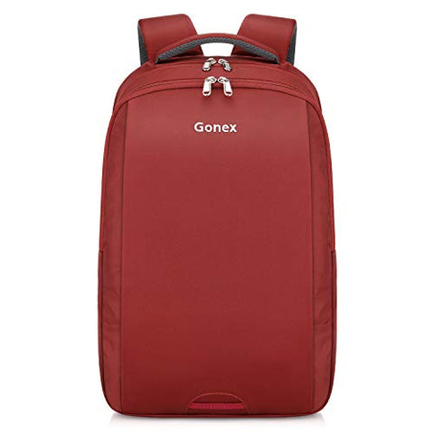 Gonex Slim Commuter Laptop Backpack for Men & Women, Travel Business 14 Inch Notebook Computer