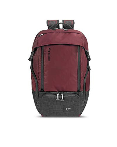 Solo Elite Backpack, Burgundy