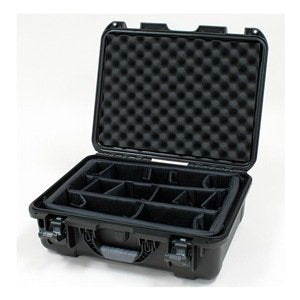 Nanuk 930-2001 Hard Plastic Waterproof Case W/Padded Divider