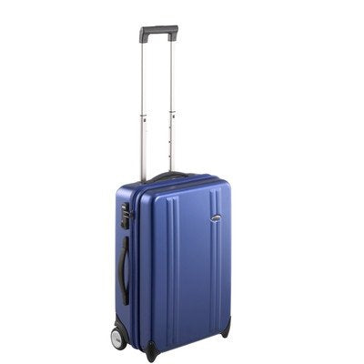 "Zero Halliburton ZT221 Z-Tex 21"" Polycarbonate 2-Wheel Carry-On Color: Blue"
