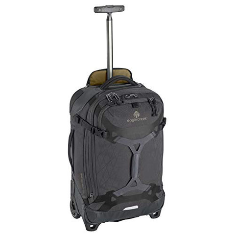 Eagle Creek Gear Warrior Carry-On Rolling Duffel Bag, Jet Black
