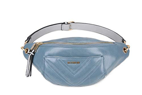 ECOSUSI Women Fanny Pack Waist Bag with Adjustable Strap for Working Traveling Casual Outdoor