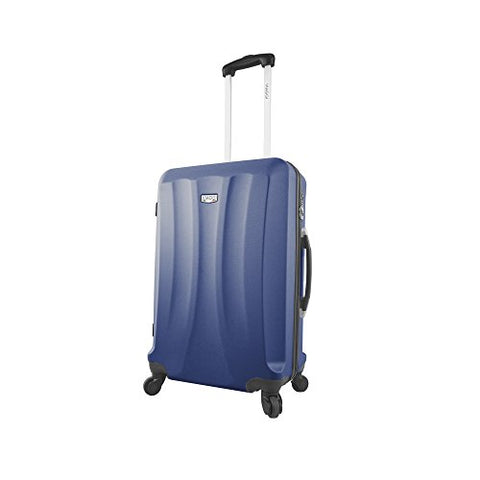 Viaggi Capri Hardside 24 Inch Spinner, Blue, One Size