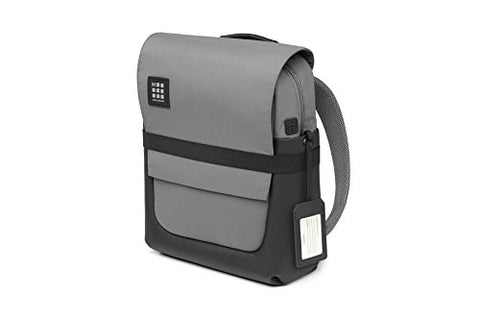 Moleskine ID Backpack, Slate Grey - for Work, School, Travel & Everyday Use, Space for Devices, Tablet, Laptop, Chargers, Notebook Planner or Organizer, Padded Adjustable Straps Secure Zipper