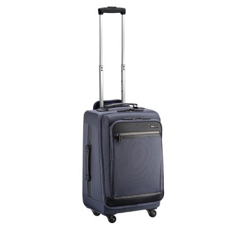 Zero Halliburton Zest 20 Inch Carry-On Upright, Navy, One Size