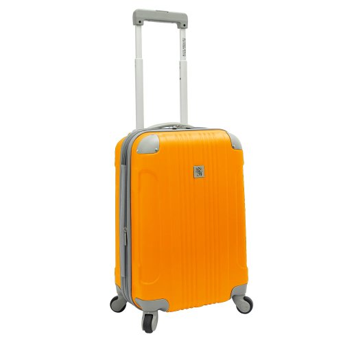 "Beverly Hills Country Club Newport 21"" Hardside Spinner Carry On (Orange)"