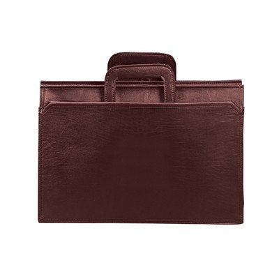 Bellino Portfolio Briefcase Color: Burgundy