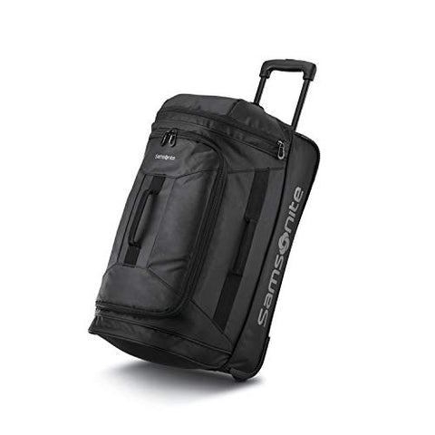 Samsonite Andante 2 Boxed Wheeled Duffel 22, All Black