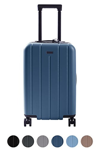 "Chester Carry-On Luggage/22"" Lightweight Polycarbonate Hardshell/Spinner Suitcase/Tsa Approved"