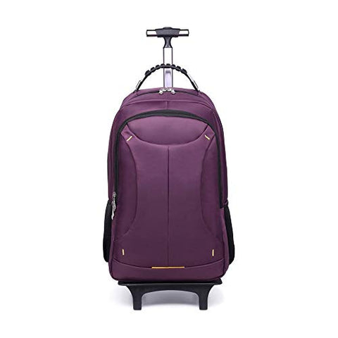 FANQIECHAODAN Trolley Backpack Large Capacity Shoulder Lever Computer Backpack Travel Backpack,Three Use Men And Women Travel BackpackSuper Lightweight Travel Carry On Cabin Hand Luggage Suitcase with