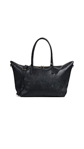 Deux Lux Women's Perforated Duffel Bag, Black, One Size