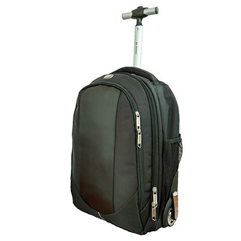 Backpack With Wheels, Freewheel Wheeled Laptop Backpack, High School, College Backpack, Rolling