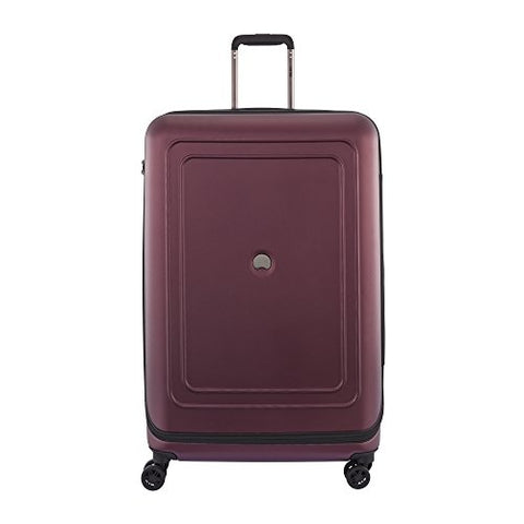 "Delsey Luggage Cruise Lite Hardside 29"" Exp. Spinner Trolley, Black Cherry"