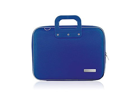Bombata Nylon Briefcase, 38 cm, 15 Liters, Blue