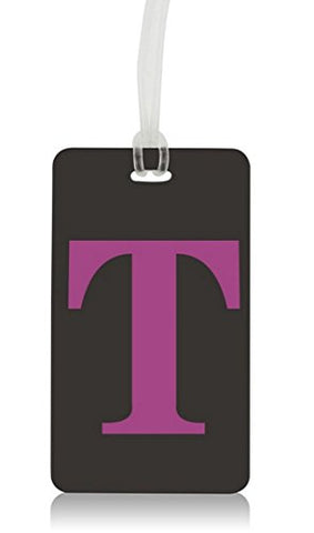 Letter Luggage Tag (T)