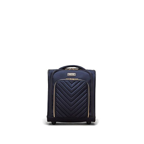 Kenneth Cole Reaction Women's Chelsea Underseater Carry-on Luggage, Navy