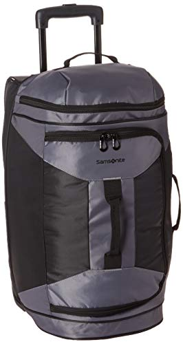 Samsonite 22 Inch Rolling Duffel, Riverrock/Black, One Size