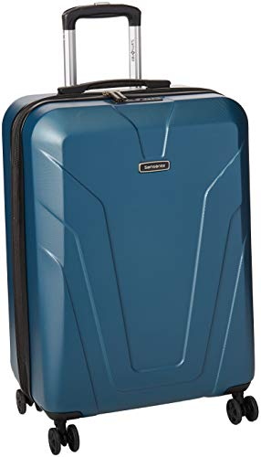 Samsonite Frontier Spinner Unisex Medium Blue Polycarbonate Luggage Bag Q12045002