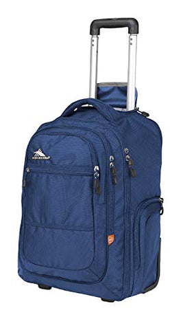 High Sierra Rev Wheeled Backpack (True Navy)