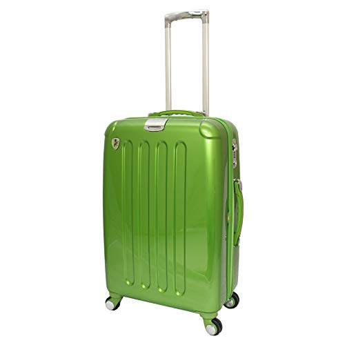 Heys Crown Edition L Elite Lightweight 26-inch Large Hardside Spinner Suitcase with TSA Lock Green