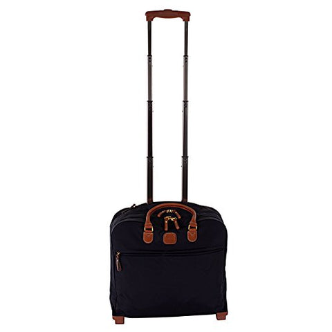 Bric's Luggage BXL38124 X Travel Ultra-Light Pilot Case Carry On, Navy, One Size