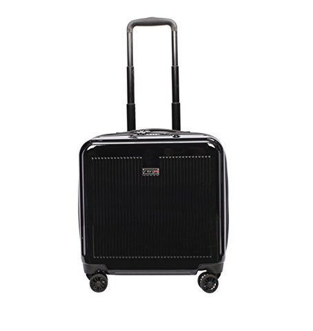 Revo Luna Wheeled Business Tote, Black
