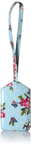 Vera Bradley Iconic Luggage Tag, Signature Cotton, Water Bouquet