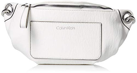 Calvin Klein Sonoma Bubble Lamb Novelty Belt Bag, white