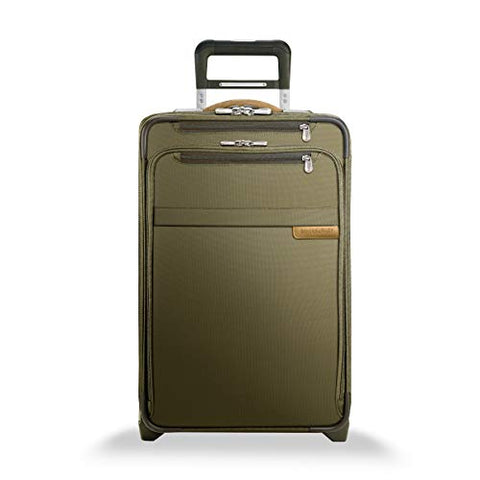 "Briggs & Riley Baseline Domestic Expandable Carry-On 22"" Upright, Olive"