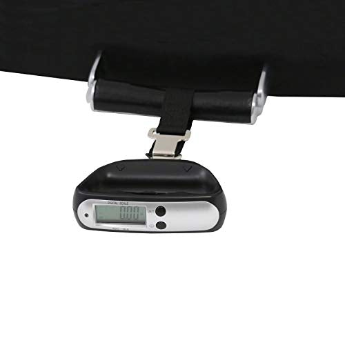 Bey Berk Black Plastic Travel Luggage Scale