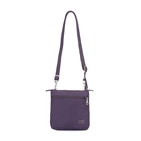 Pacsafe Women'S Citysafe Cs50 Anti-Theft Crossbody Purse - Mulberry Travel Cross-Body Bag, One Size