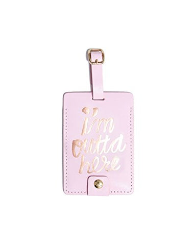 Ban.Do Design The Getaway Luggage Tag - I'M Outta Here (55124)